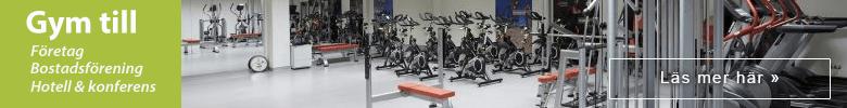 Gym till företaget eller bostadsrätten, kolla in denna sida »